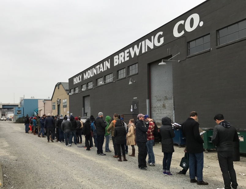 The line at Holy Mountain